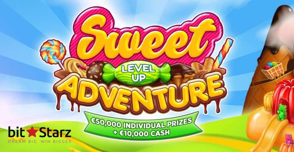 Sweet Level Up Adventure from BitStarz