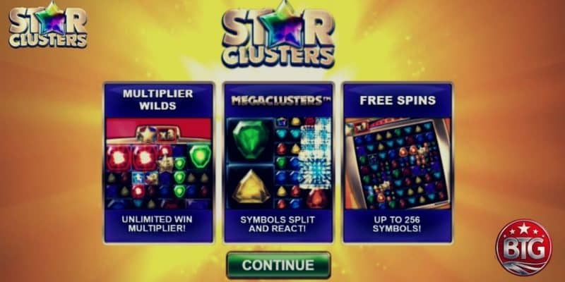 BitStarz Launches Star Clusters Megaclusters Slot